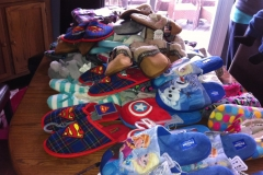 Slippers for the Children at Denise House